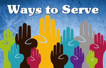 Colored Hands - Ways to Serve